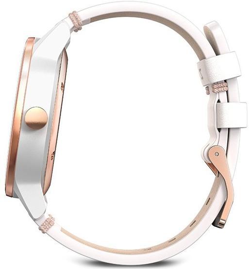 Спортивные часы Garmin Vivomove Classic 010-01597-11 (Rose Gold/White)