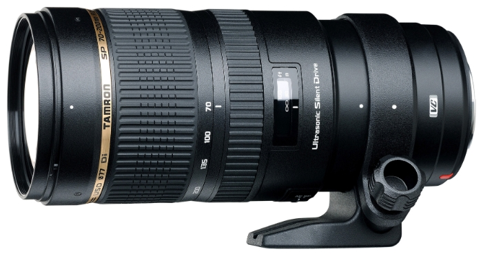 Tamron SP AF 70-200mm f/2.8 DI VC USD - телеобъектив для фотоаппаратов Canon (Black)