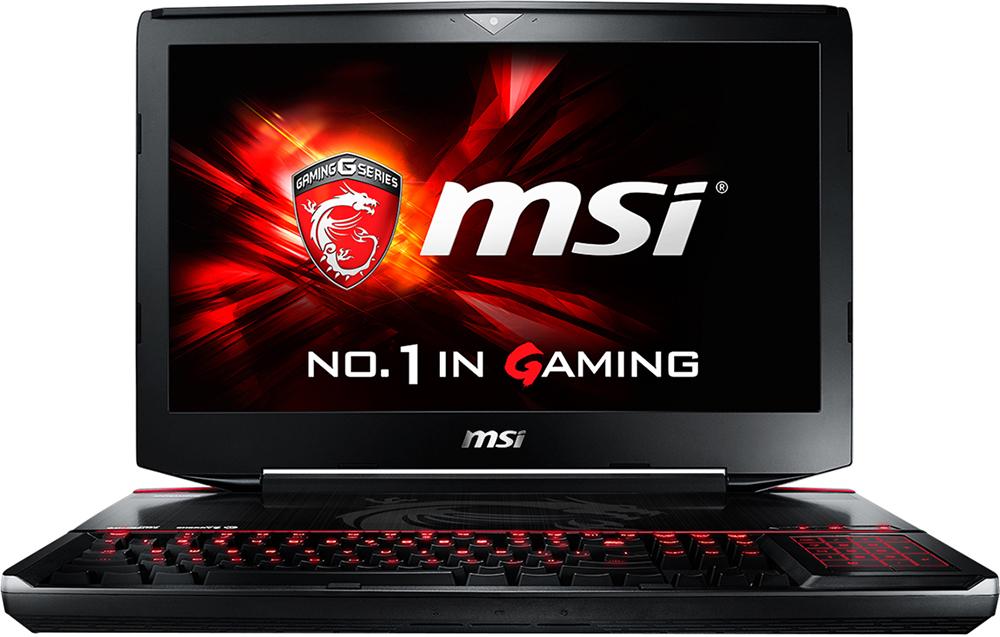 """Ноутбук MSI GT80S 6QD-020RU Titan SLI 18.4"""", Intel Core i7 6820HK 2.7GHz, 16Gb, 1Tb HDD + 256Gb SSD (9S7-181412-020)"""