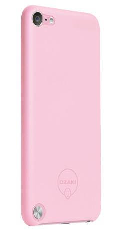 Ozaki O!Coat-0.4 Solid (OC611PK) - чехол для iPod Touch (Pink)