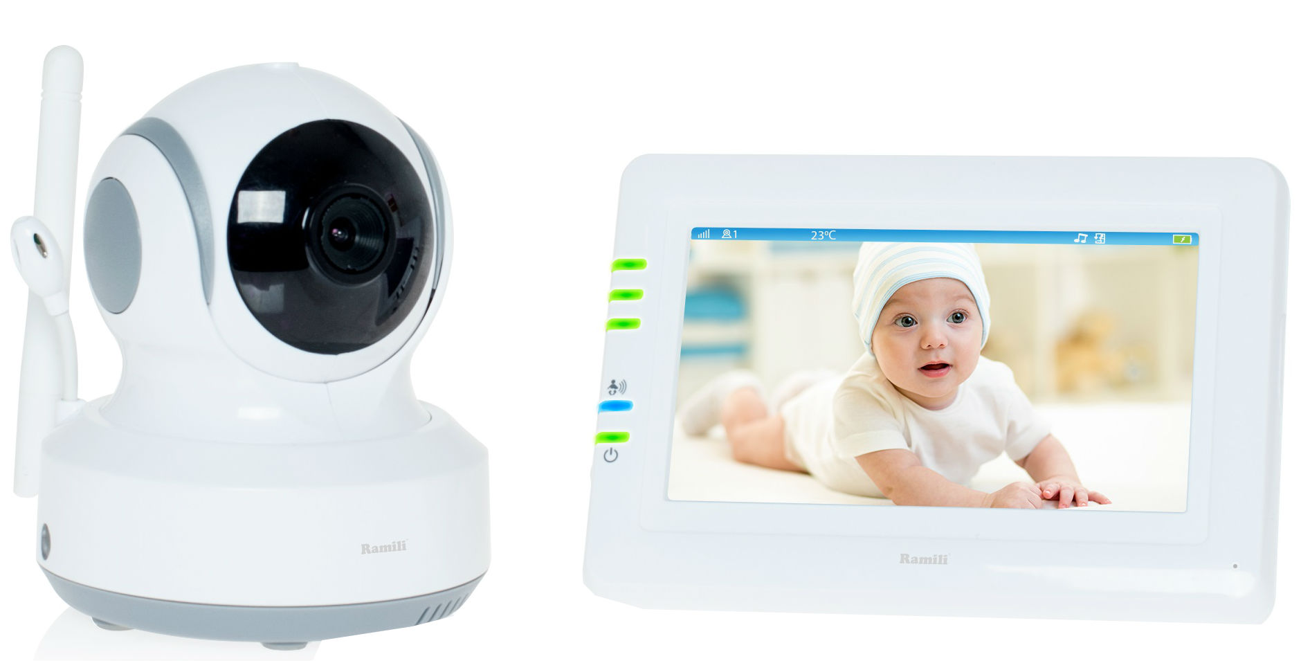 Ramili Baby Video Baby Monitor RV900