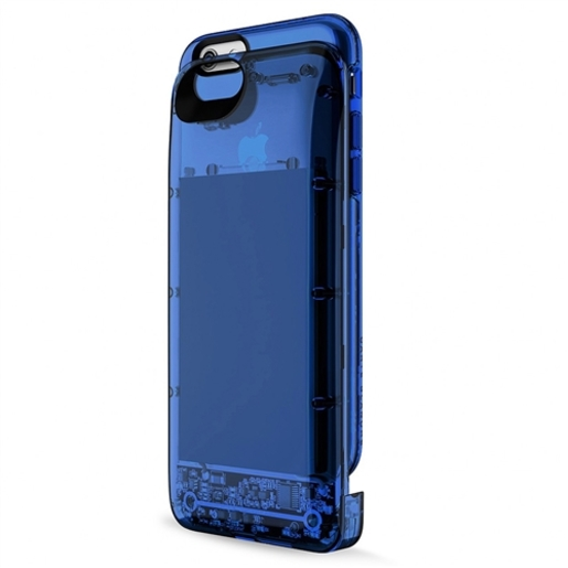 Boostcase Hybrid Power Case 2700 мАч (BCH2700IP6-SPH) - чехол-аккумулятор для iPhone 6/6s (Clear Blue)