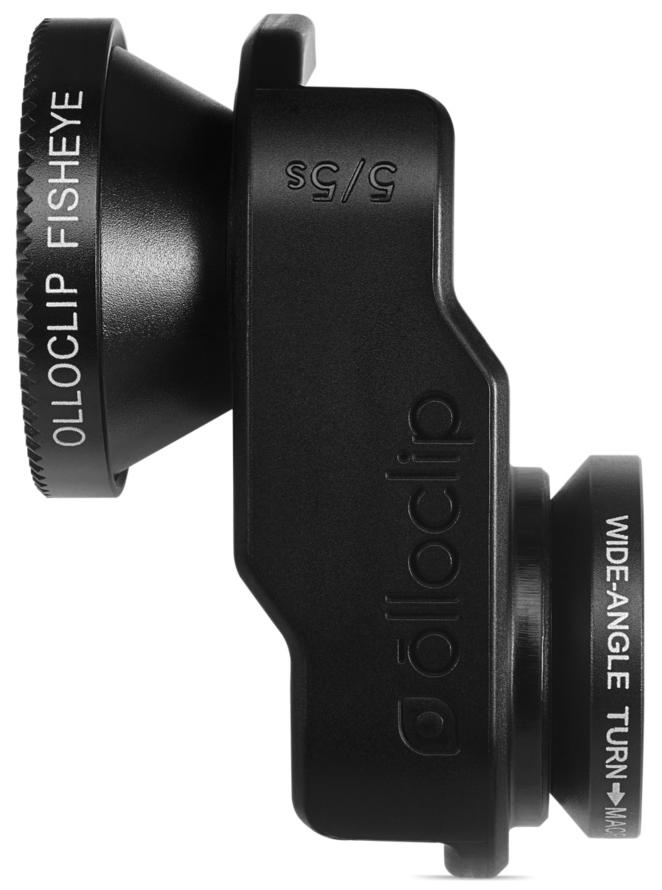 Olloclip Photo Lens Selfie 3-in-1 OCEA-IPH5-L1BK-SBK-1