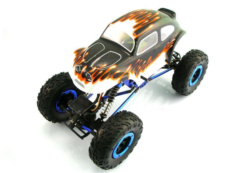 Himoto mini Rock Crusher 4WD 1:18 - радиоуправляемый автомобиль (White) MRC-18
