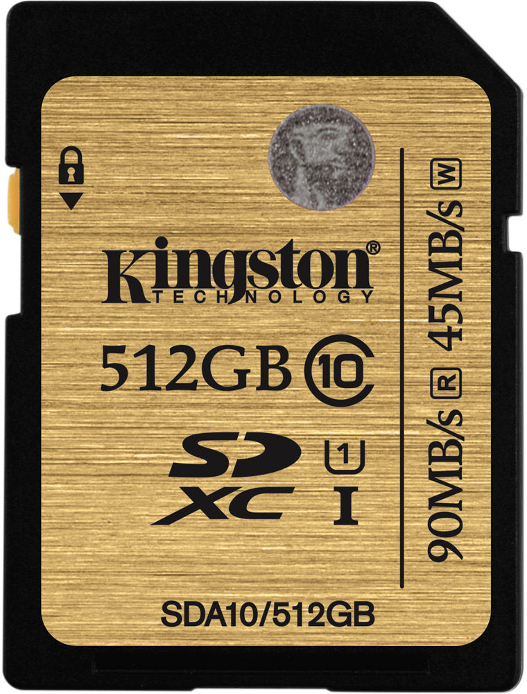 Kingston SDXC 512Gb Class 10 U1 UHS-I (SDA10/512GB) - карта памяти super deal dia 1 5m water zorb balls winter water zorbing for adults