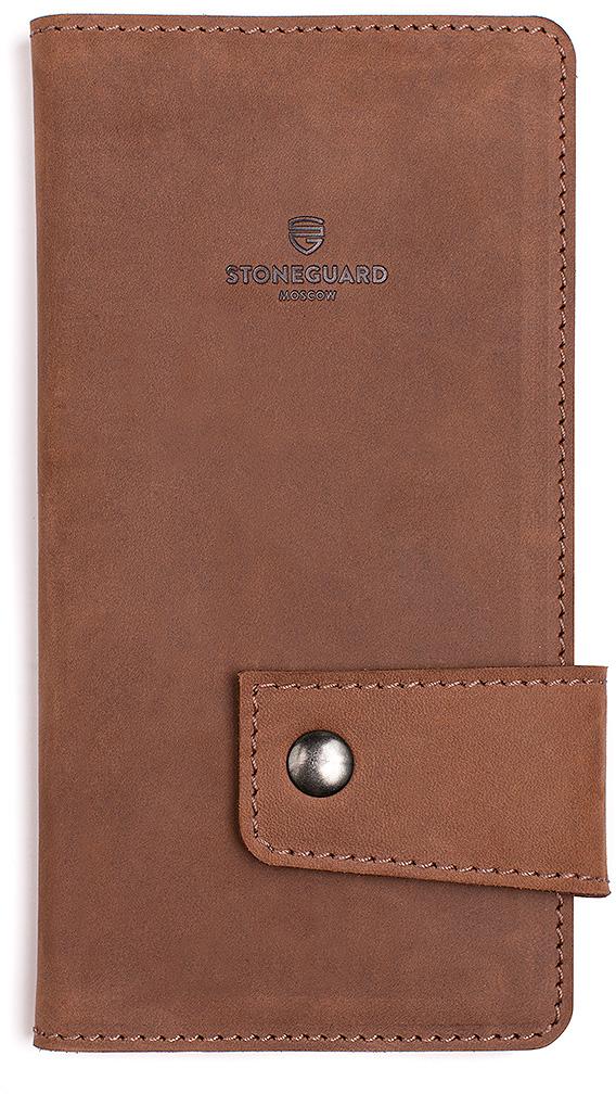 Stoneguard 321 - кожаный кошелек (Rust)