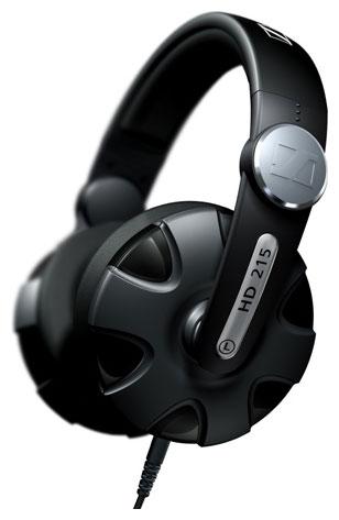 Sennheiser HD 215 II - мониторные наушники (Black)