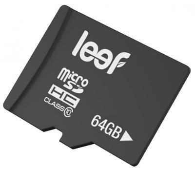 Leef microSDXC 64Gb Class 10 (LFMSD-06410R) - карта памяти (Black)