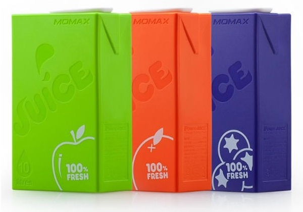 Momax iPower Juice 10000мАч - внешний аккумулятор (Purple)