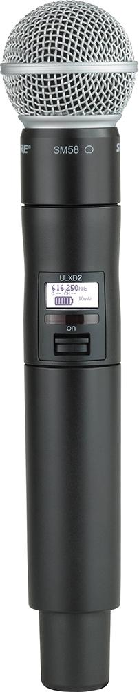Shure ULXD2/SM58 K51 - ручной передатчик (Black)