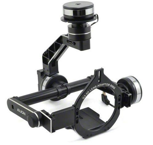 Align G3-5D 3-Axis Gimbal (RGG302XT) - подвес камеры Canon 5D для мультикоптера