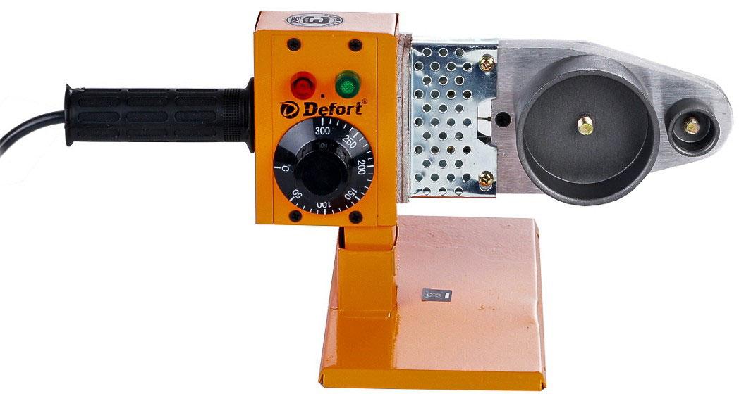 Defort DWP-1000 (98299472) - аппарат для сварки полипропиленовых труб (Orange) от iCover