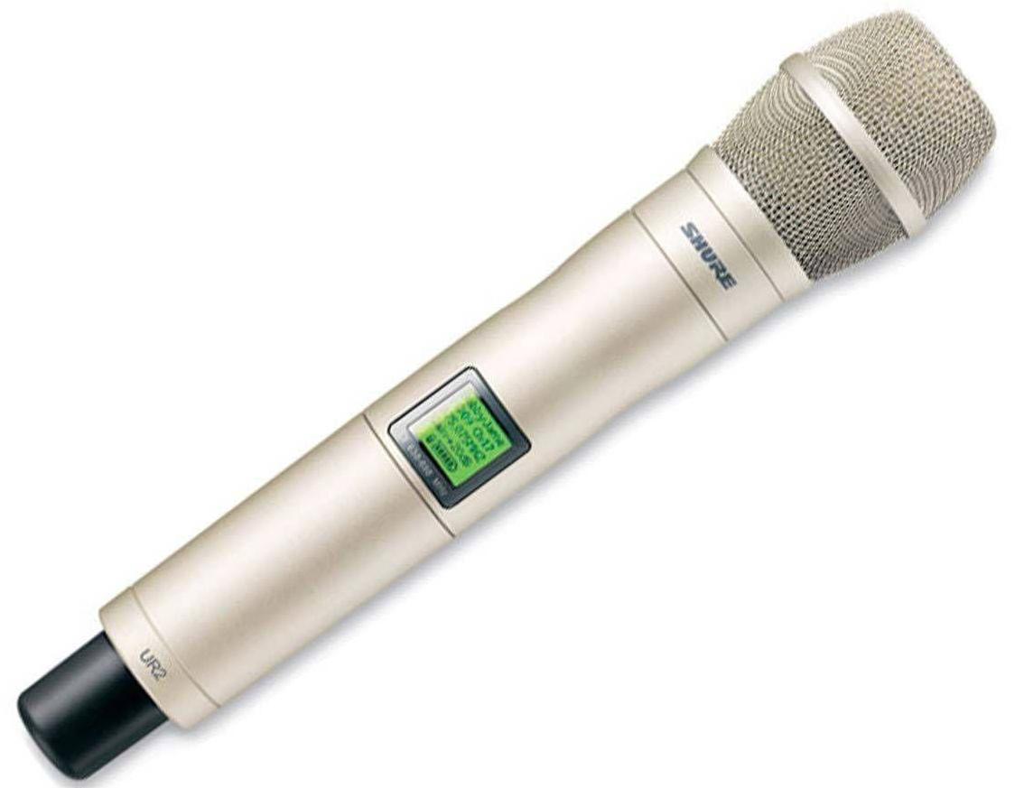 Shure UR2/KSM9/SL J5E (A041870) - передатчик UHF-R c микрофоном KSM9 (Shampagne)  цена