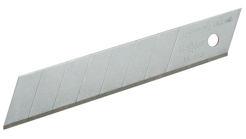 Stanley (0-11-718) - лезвие с отламывающимися сегментами 18 мм