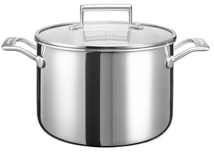 KitchenAid 3 Ply Stainless Steel KC2T80SCST