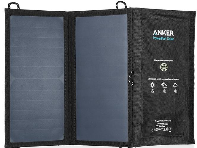 Anker A2422011 - солнечная зарядка (Black)