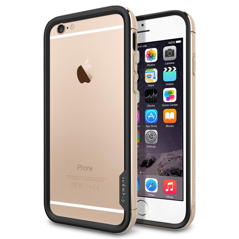 """Spigen Neo Hybrid EX Metal Series (SGP11187) - бампер для iPhone 6 4.7"""" (Champagne Gold)"""