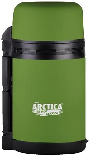 Арктика 203-1000 1 л - термос универсальный с широким горлом (Khaki Matte)
