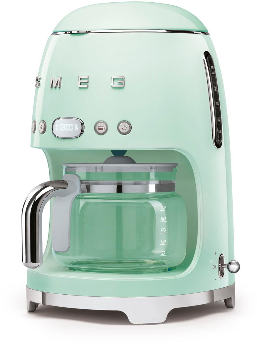 Капельная кофемашина Smeg DCF02PGEU (Pastel Green) фото