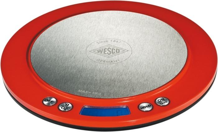 Wesco 322251-02 - цифровые кухонные весы (Red)