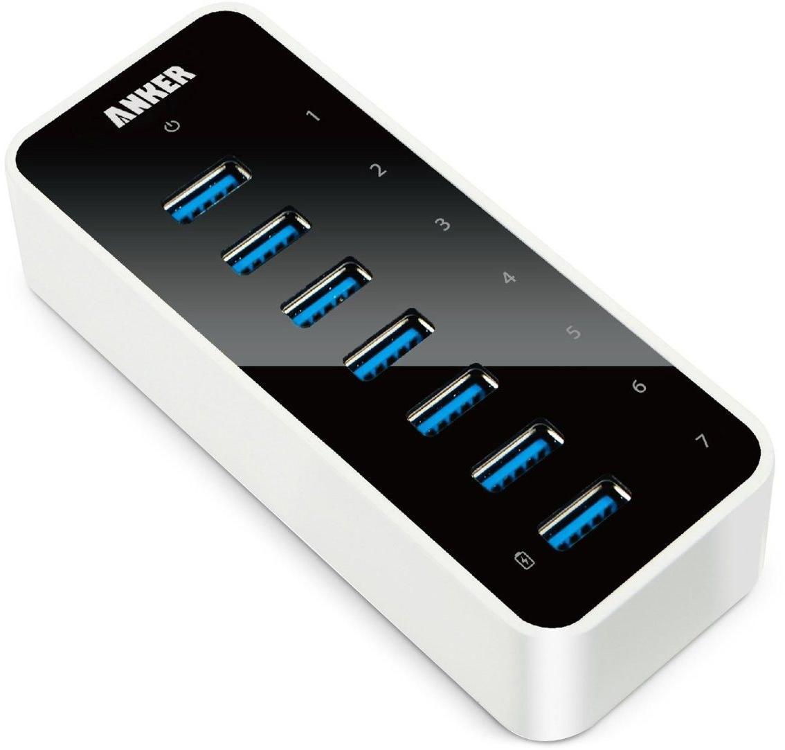 anker Anker Hub USB 3.0 (68ANHUB-BV7EA) - USB-концентратор (White)
