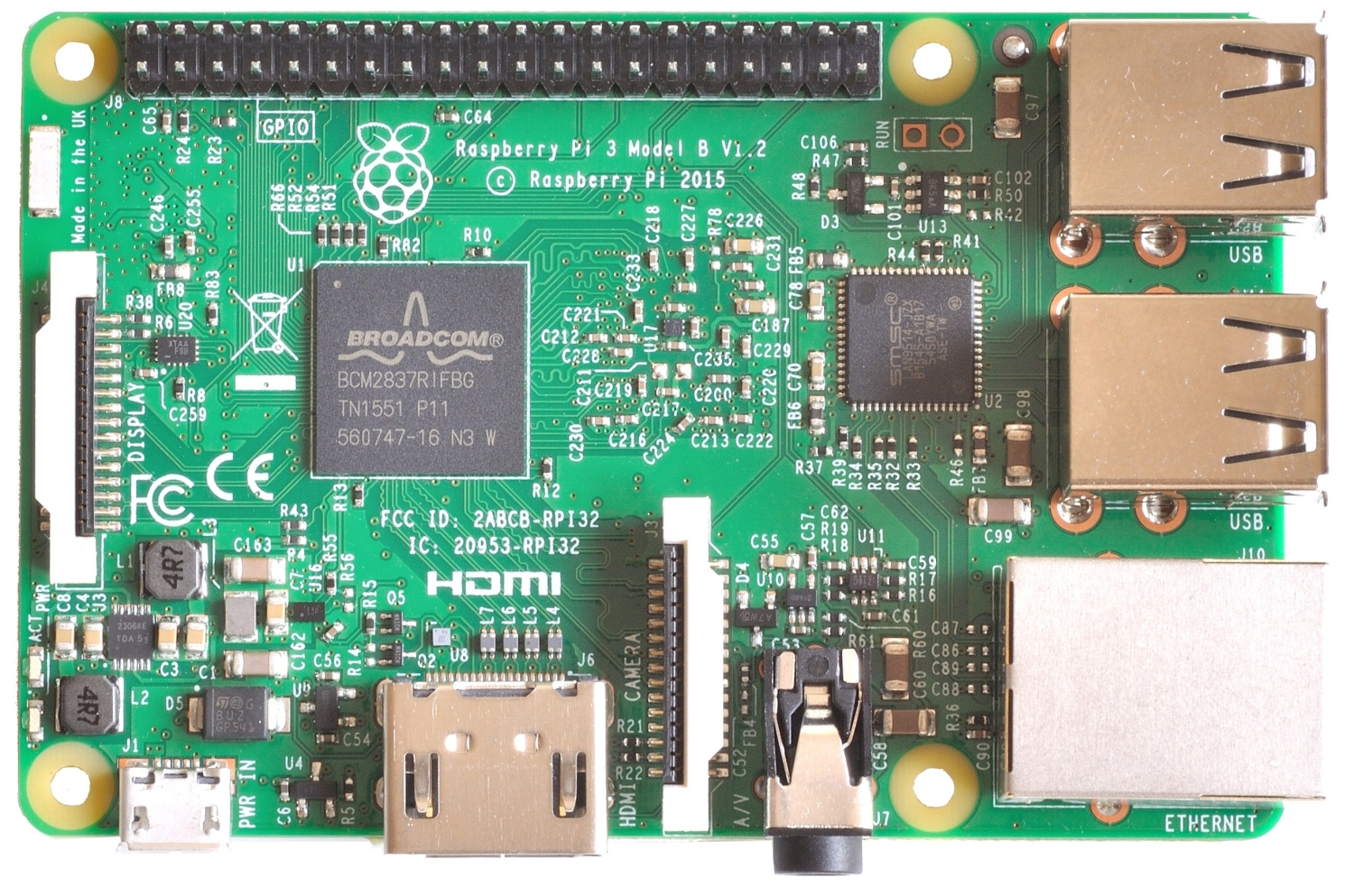 CanaKit Raspberry Pi 3 Ultimate Starter Kit 32Gb