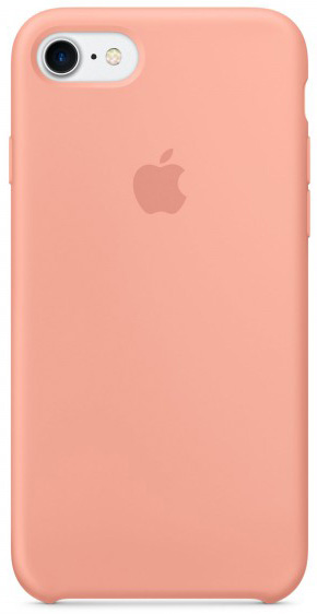 Apple Silicone Case (MQ592ZM/A) - чехол для iPhone 7 (Pink)