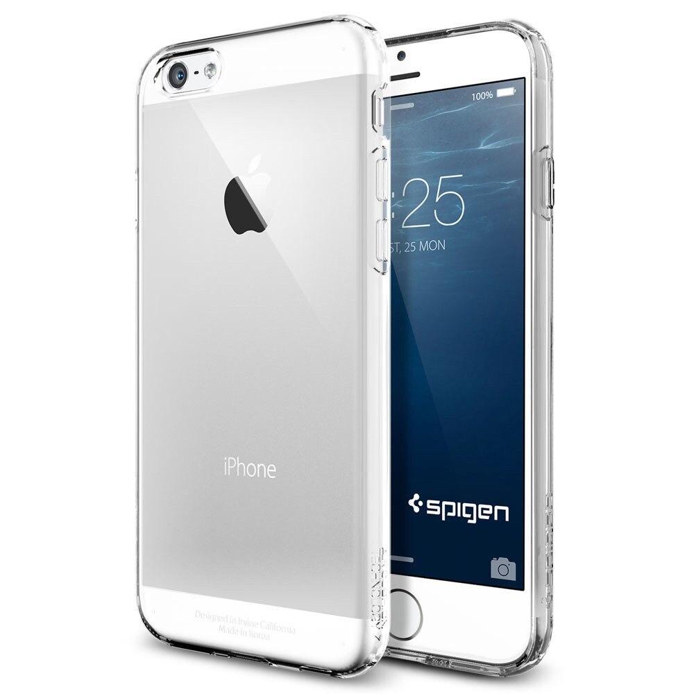 Spigen Capsule Series (SGP10940) - накладка для iPhone 6 4.7 (Crystal Clear)