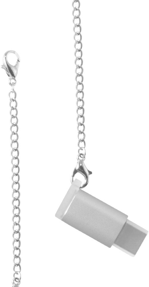 COTEetCI M31 (CS2145-TS) - переходник microUSB-USB-C (Silver)