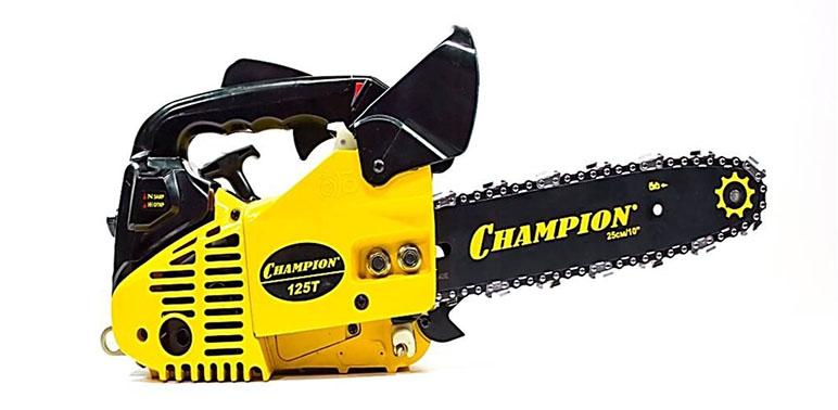 """Champion 125T-10""""- 3/8"""" - бензопила от iCover"""