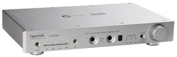 Questyle CMA 800i (00-00003152) - ЦАП/усилитель для наушников (Silver)