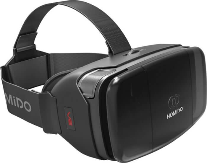 Homido V2 - шлем виртуальной реальности (Black)