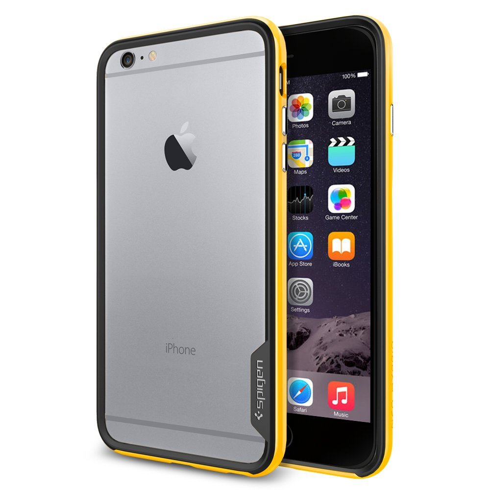 Купить Spigen Neo Hybrid EX (SGP11060) - бампер для iPhone 6 Plus/6S Plus (Reventon Yellow)