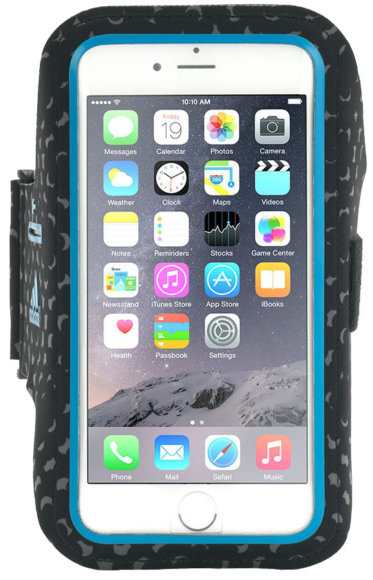 Griffin Adidas Armband (GB40013) - спортивный чехол для iPhone 6 (Black/Blue)