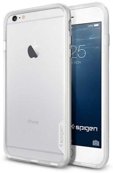 Купить Spigen Neo Hybrid EX (SGP11062) - бампер для iPhone 6 Plus/6S Plus (Infinity White)