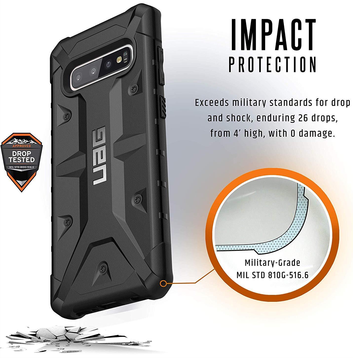 Чехол Urban Armor Gear Pathfinder для Samsung Galaxy S10 Plus (Black)