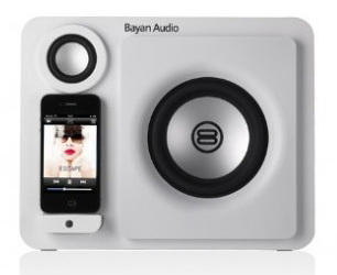 Bayan 3 Speaker dock - док-станция для iPhone/iPod (Natural White)