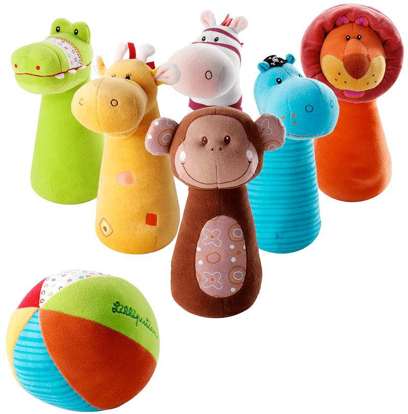 "Lilliputiens Набор мягких игрушек ""Боулинг"" (86280)"