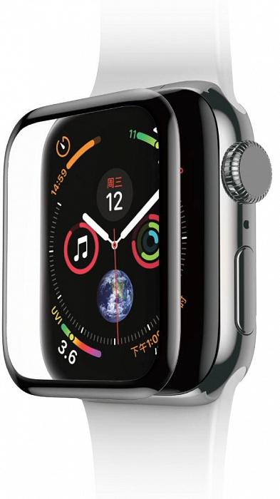 Защитное стекло uBear 3D (GL30BL40-AW4) для Apple Watch Series 4 40mm (Black)