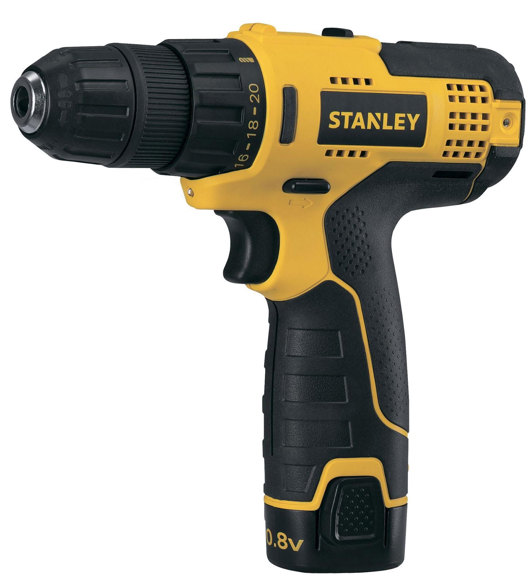 Stanley STCD1081B2-RU - дрель-шуруповерт (Yellow)  STCD1081B2-RU