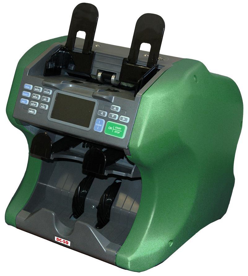 DoCash DC-50V (7939) - сортировщик банкнот с детекцией и функцией сортировкиСчетчики банкнот<br>Сортировщик банкнот<br>