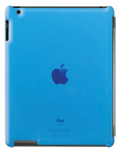 NUU BaseCase - чехол для iPad 2/iPad 3/iPad 4 (Azzurro)