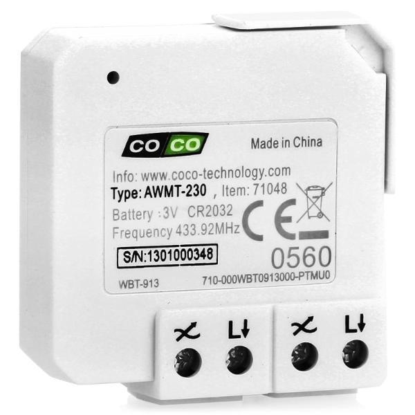 COCO AMU-500 - приемник для моторов/автоматических ворот (White)