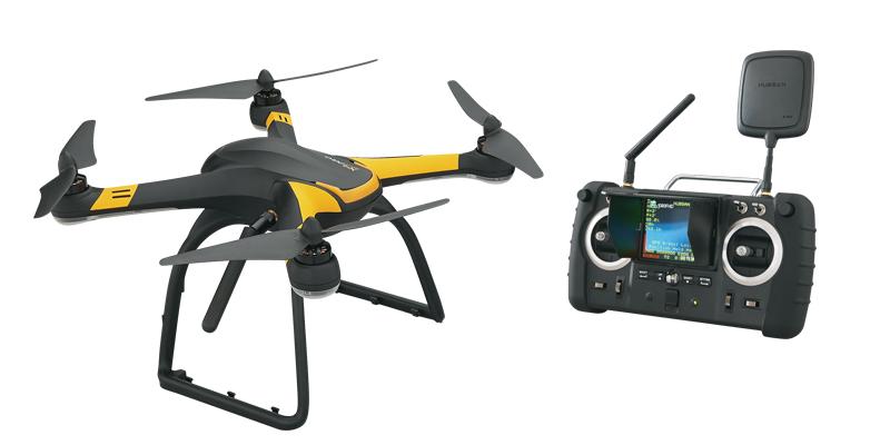 Hubsan X4 Pro FPV 5.8 Ghz RTF (H109S) - квадрокоптер с камерой (Black)