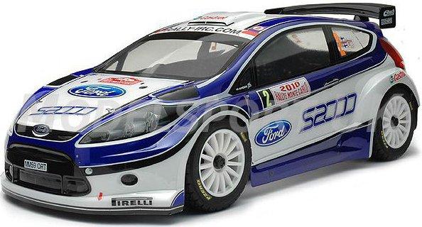 Kyosho DRX Ford Fiesta Ready Set 1:9 - радиоуправляемый автомобиль (Blue)Раллийные модели<br>Радиоуправляемая автомодель<br>