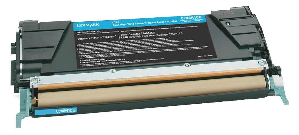 Lexmark C748H1CG - картридж для принтеров Lexmark C748 (Cyan)