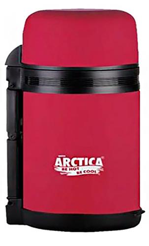 Арктика 203-800 0.8 л - термос универсальный с широким горлом (Red Matte)