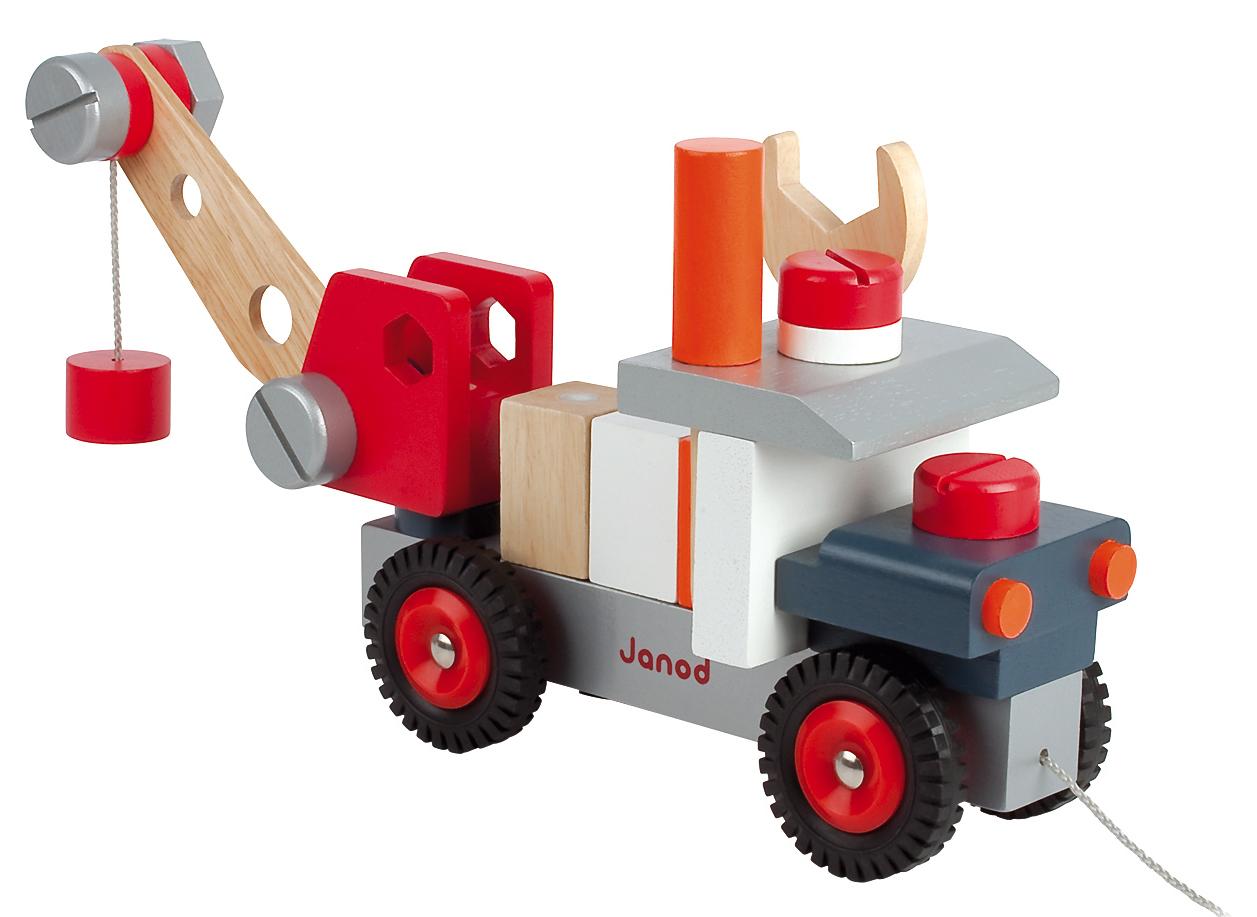 КранРазвивающие игрушки<br>Каталка-конструктор<br>