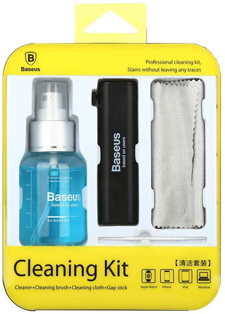 Baseus Cleaning Kit (ACCLEA-TZ) - чистящий набор для устройств Apple