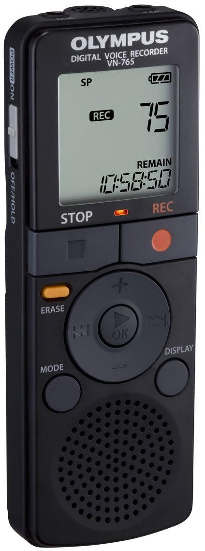 Olympus VN-765 - цифровой диктофон (Black) диктофон olympus ls p1